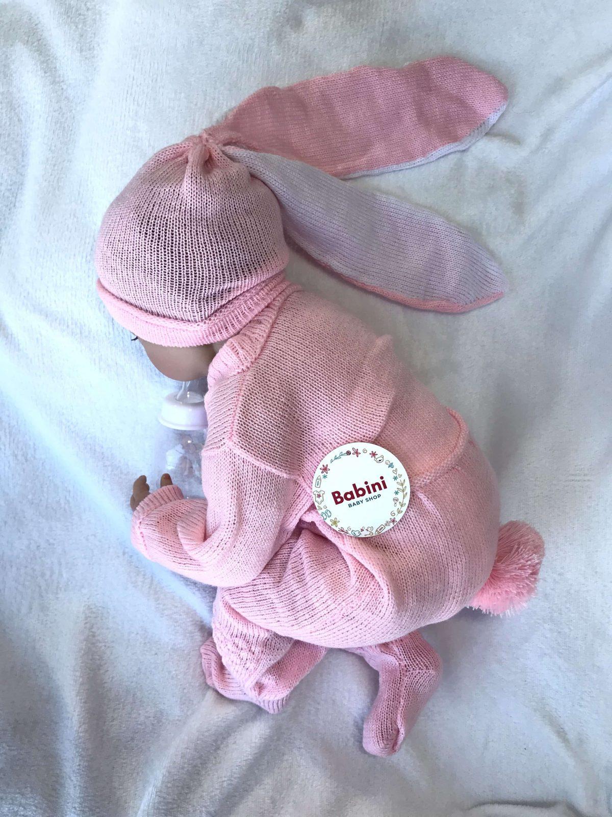 ajuar recien nacido bebé conejo