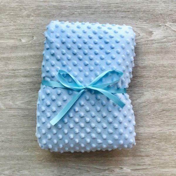 Cobija / Manta para bebé Azul