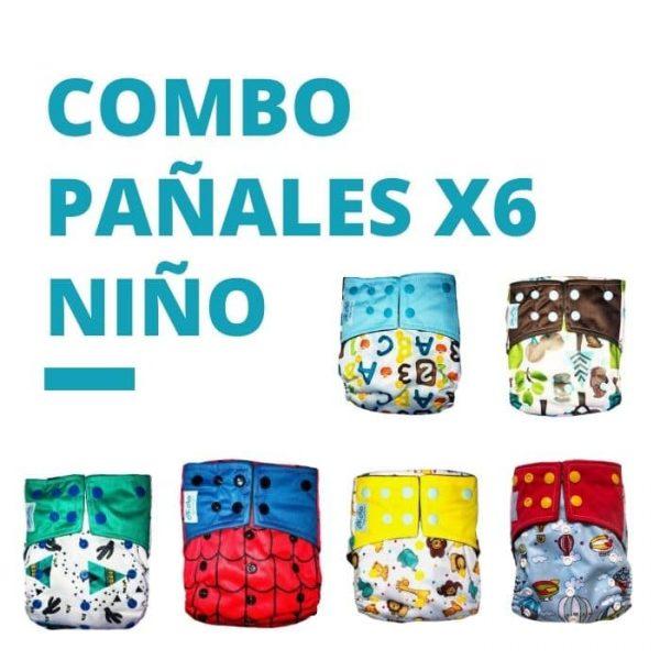 Combo x 6 Pañales Promo Niño