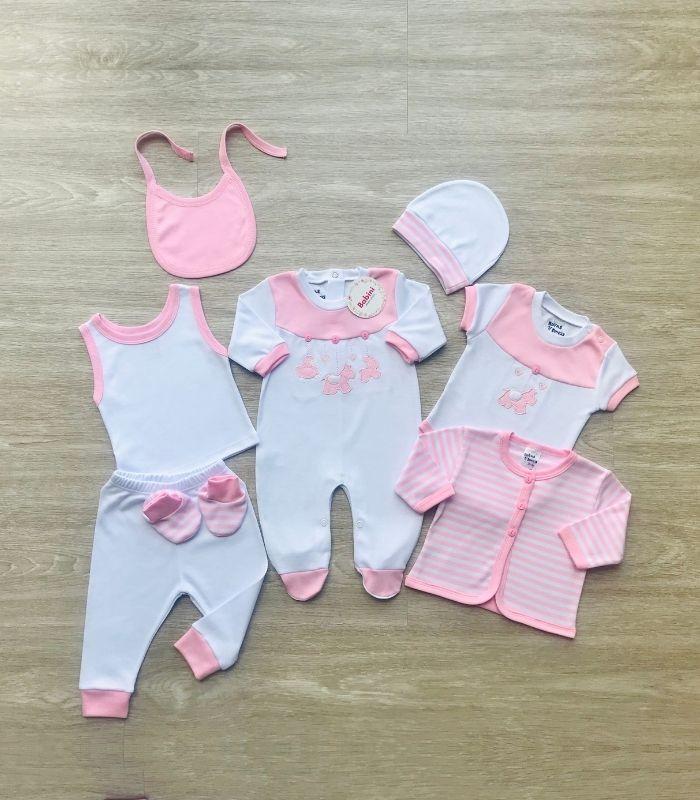 kit de bienvenida niña bebe