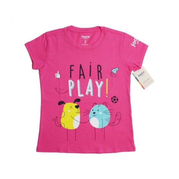 Camiseta Fair Play rosada