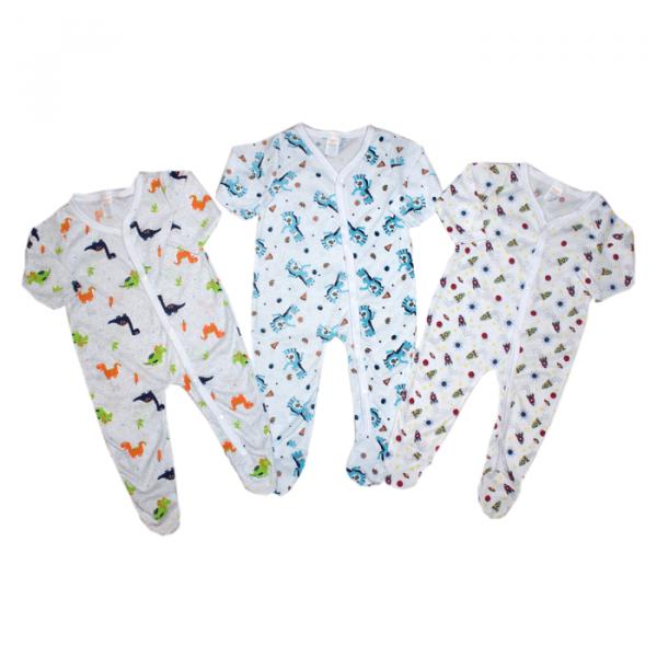 Set de 3 Pijamas Enterizas para Niño