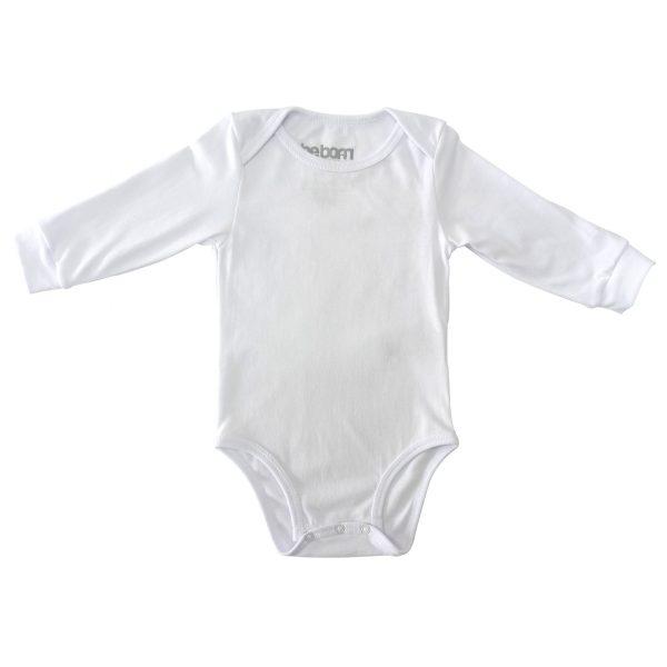 Body para bebé unisex blanco ml
