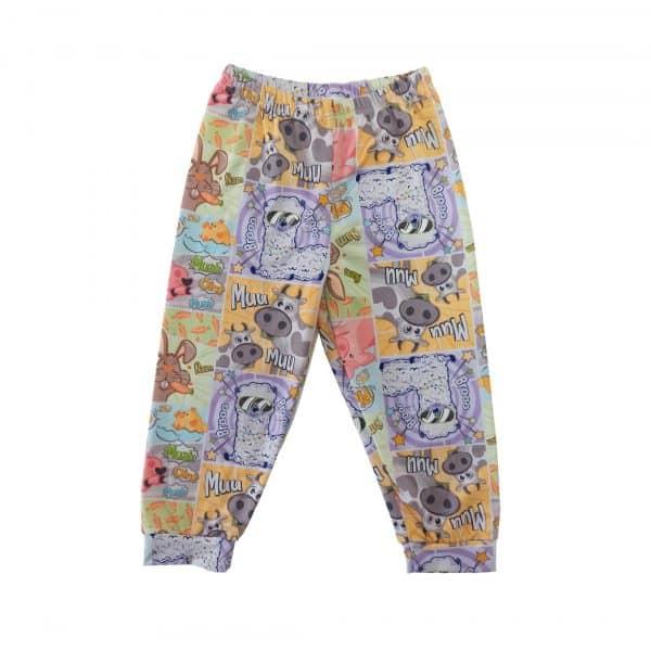 Pantalón de pijama animalitos