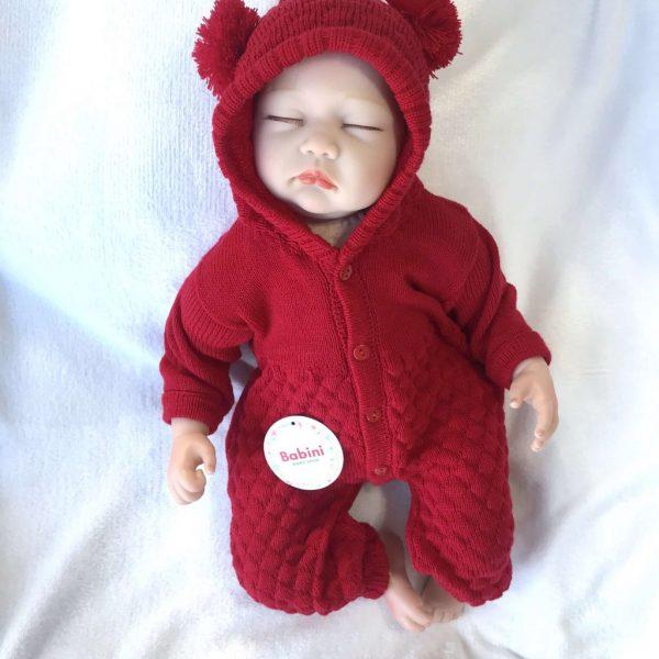 enterizo esquimal rojo bebe
