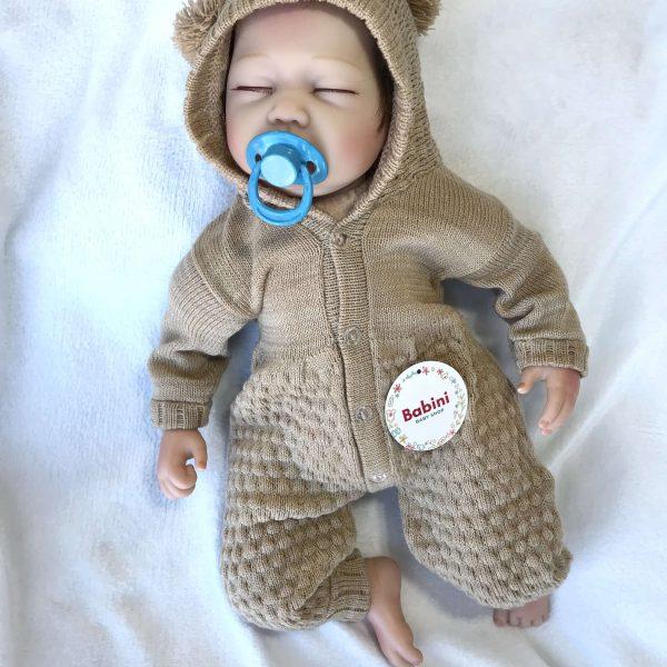 esquimal bebe orejitas beige