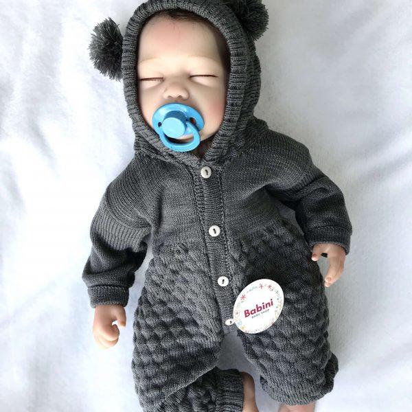 esquimal orejas gris bebe