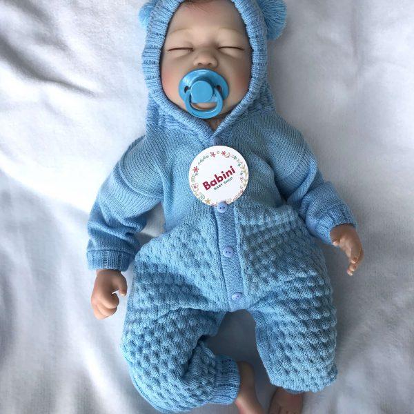esquimal bebe azul claro