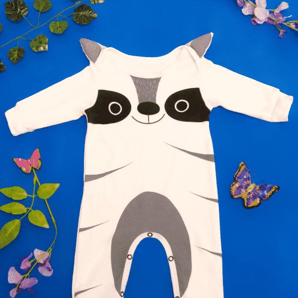 Pijama mapache