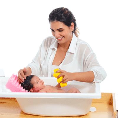 Jabonoso Bañera para bebé