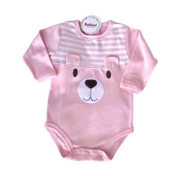 body rosado para bebe