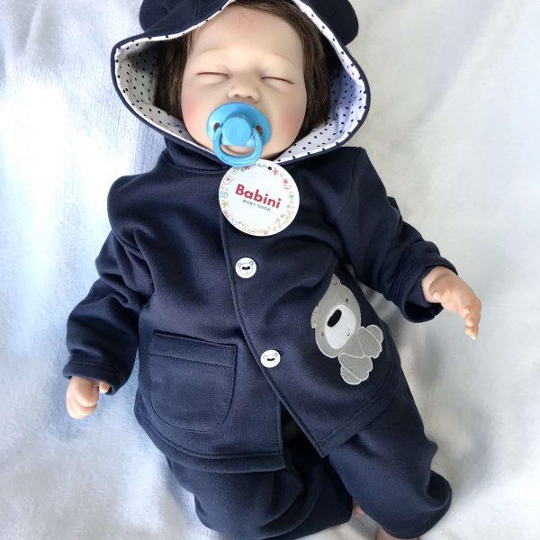 sudadera bebe niño azul