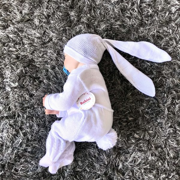 ajuar recien nacido blanco babini