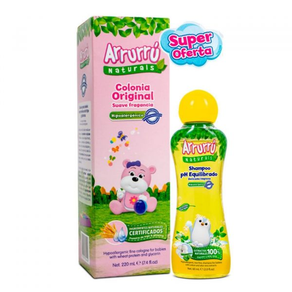 Colonia Arruru 220 + Shampoo Niña 60 ml