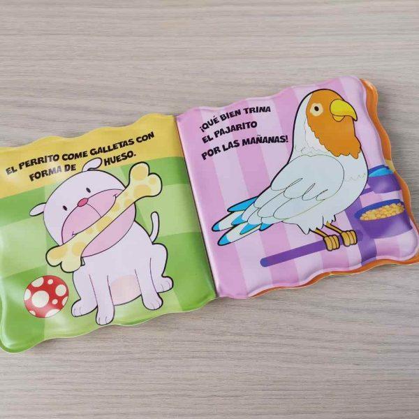 Libro De Agua -Mascotas Ref.2131