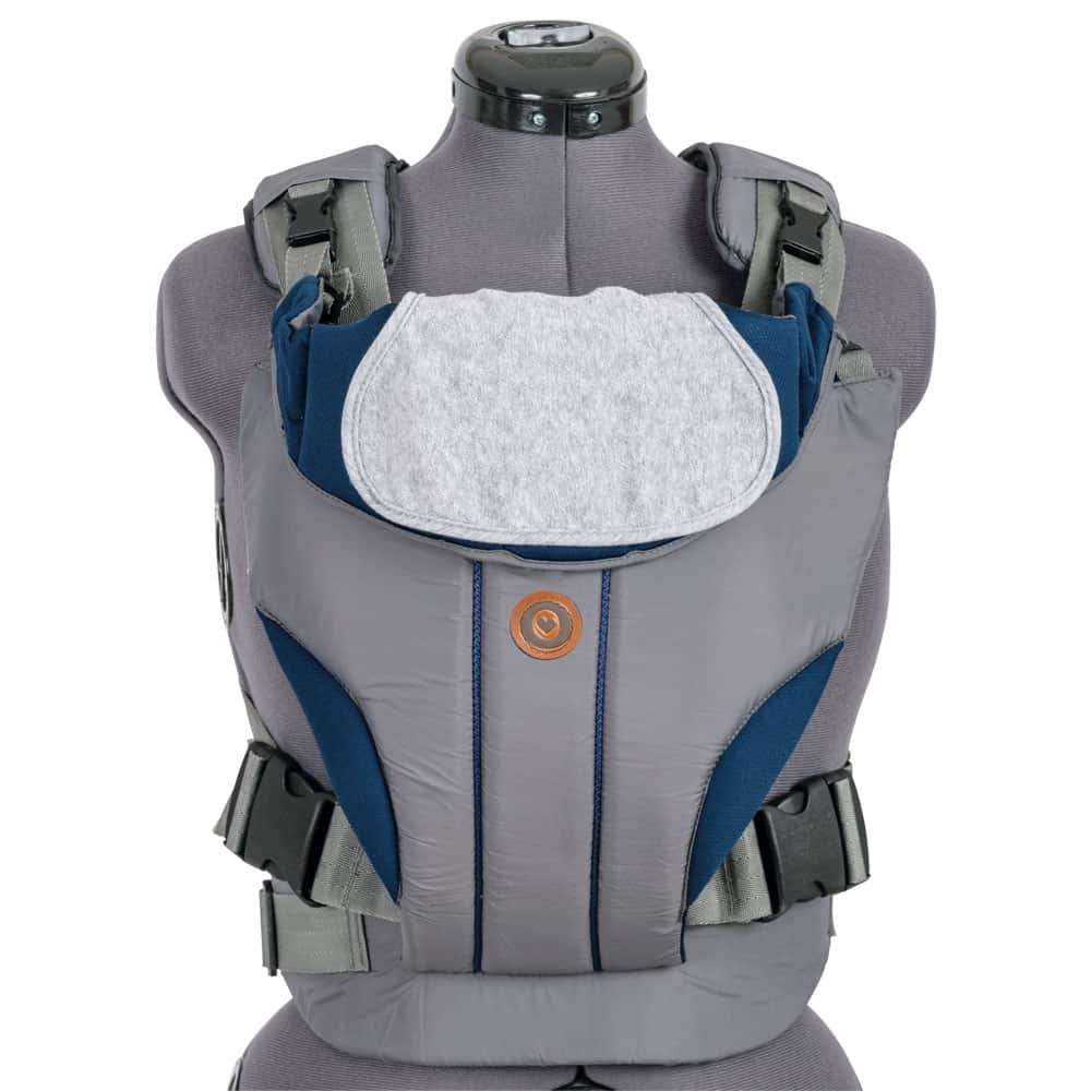 Cargador doble posición gris y azul