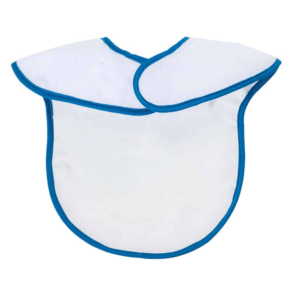 Babero impermeable y absorbente