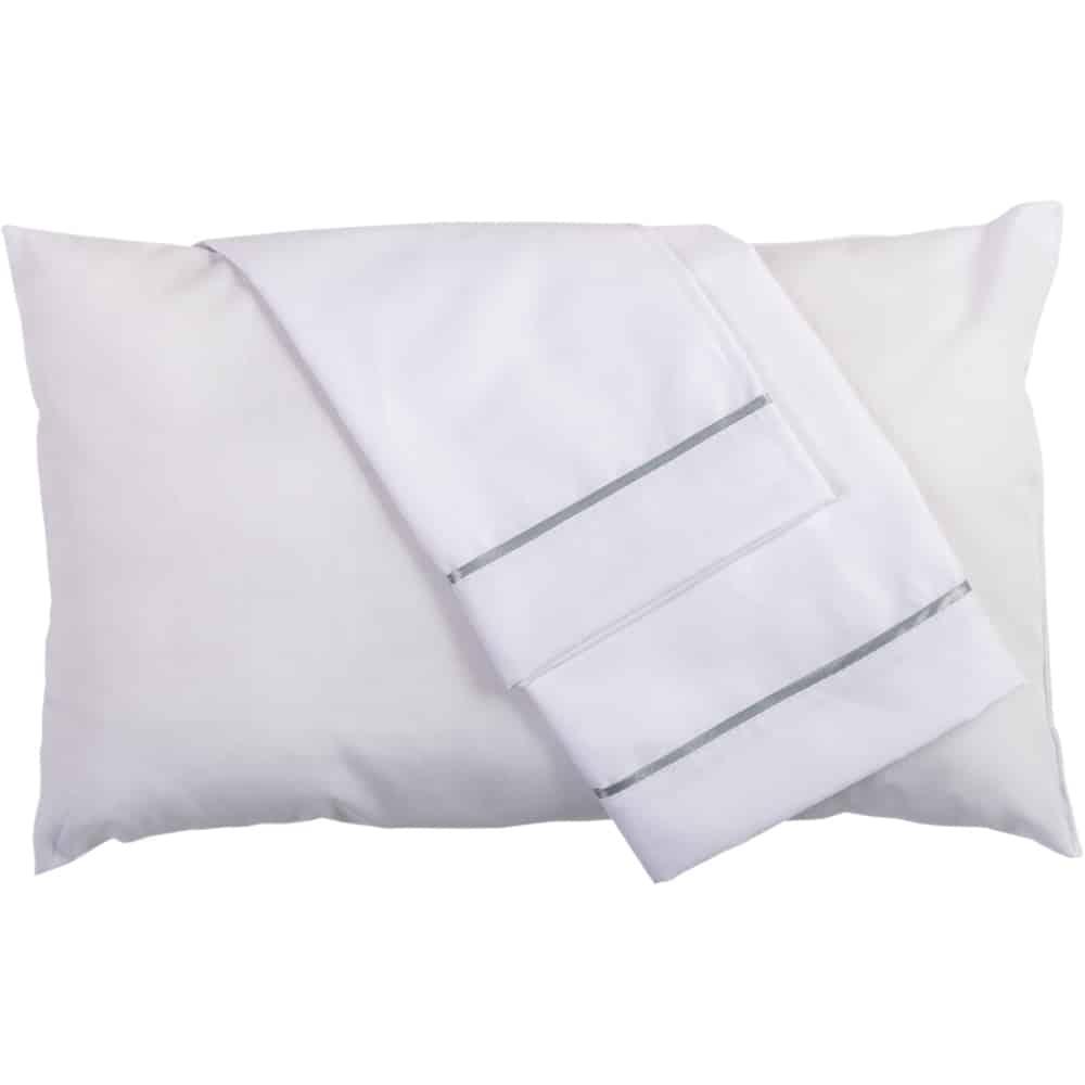 Set de almohada y funda Blanca