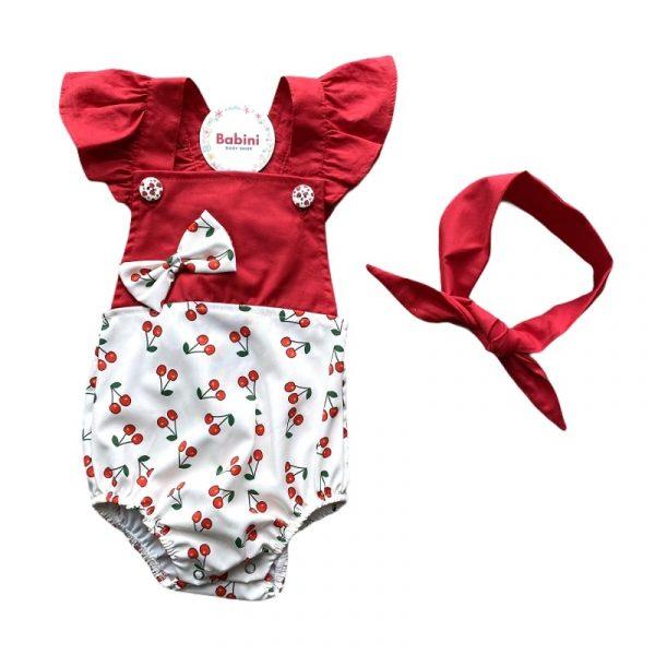 asoleadora roja para bebe