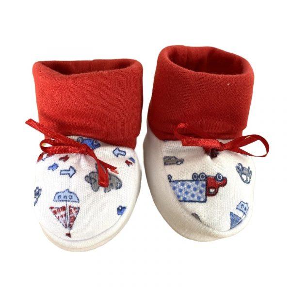 zapatos para bebe rojos
