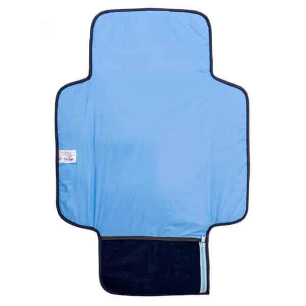 Cambiador portátil impermeable safari azul