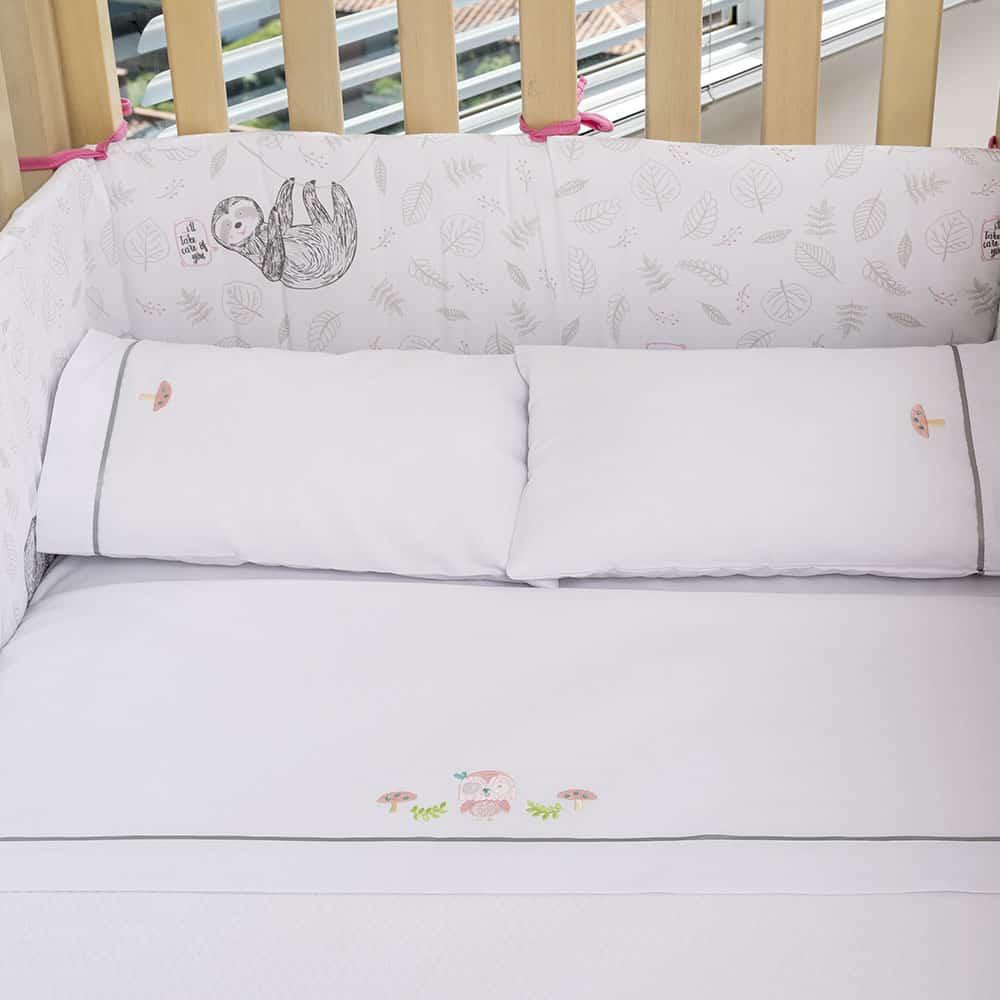 Juego de sábanas para cama corral