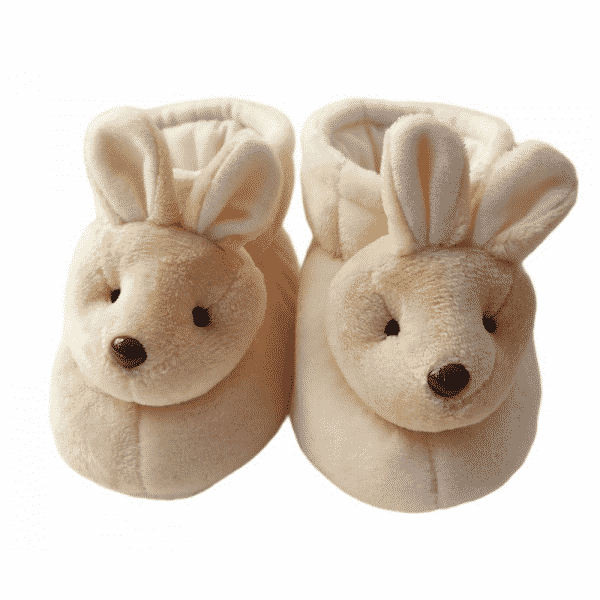 babucha beige conejo