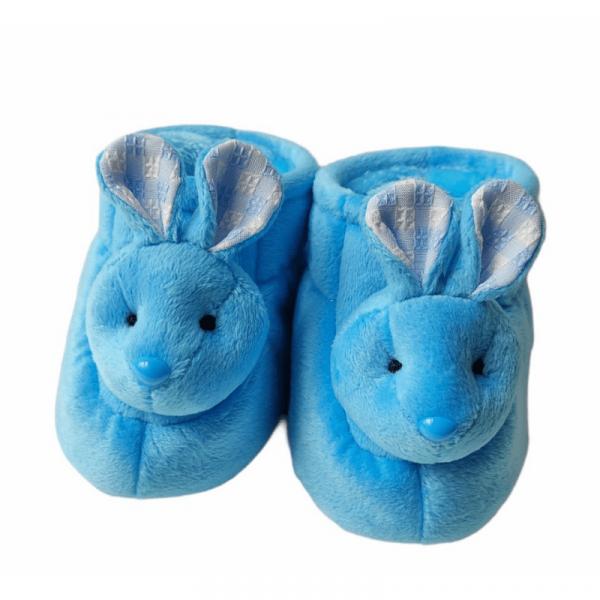 babucha conejo azul