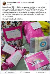 comentario Lorena Baby Shower